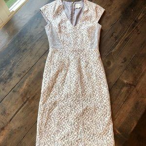 Reiss 2 Gorgeous Lace Dress EUC